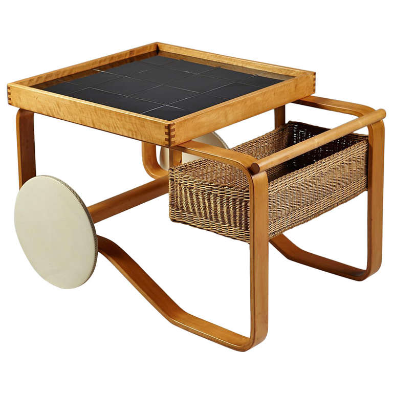 Trolley Designed By Alvar Aalto For Artek At 1stdibs