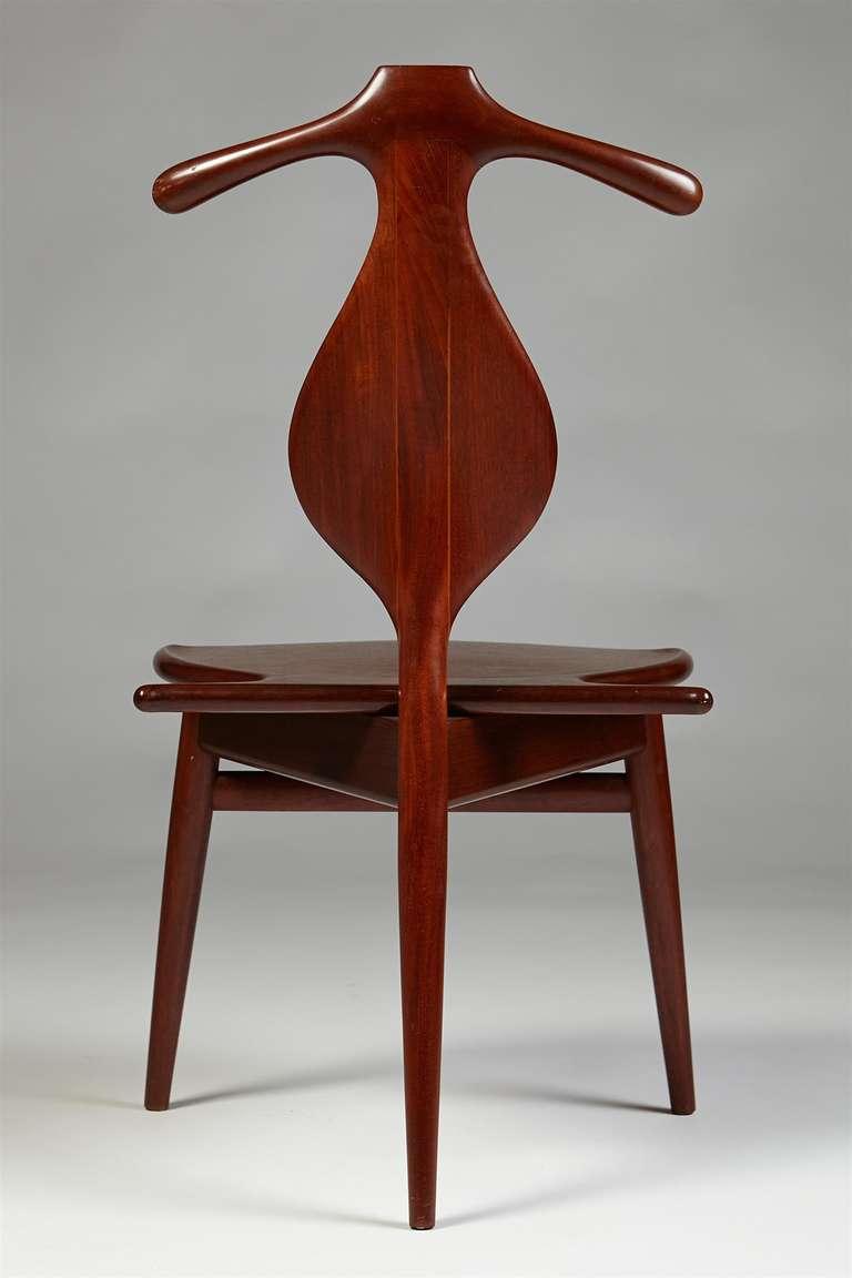 Valet Chair Designed By Hans J Wegner For Johannes Hansen Denmark 1953 At