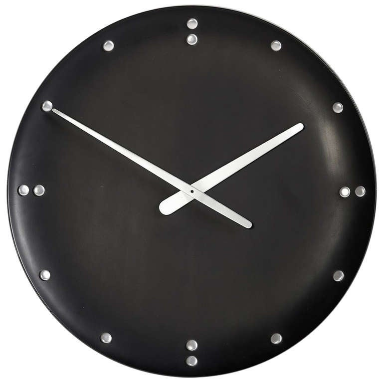 "Wall Clock ""United Nations"" At 1stDibs"