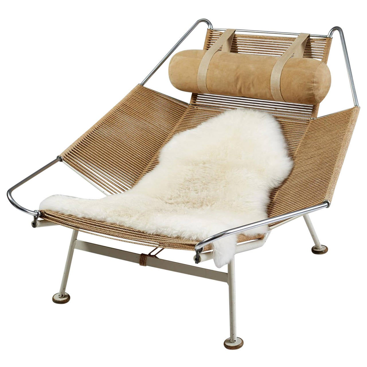 Flag Halyard Chair Designed by Hans Wegner for Getama