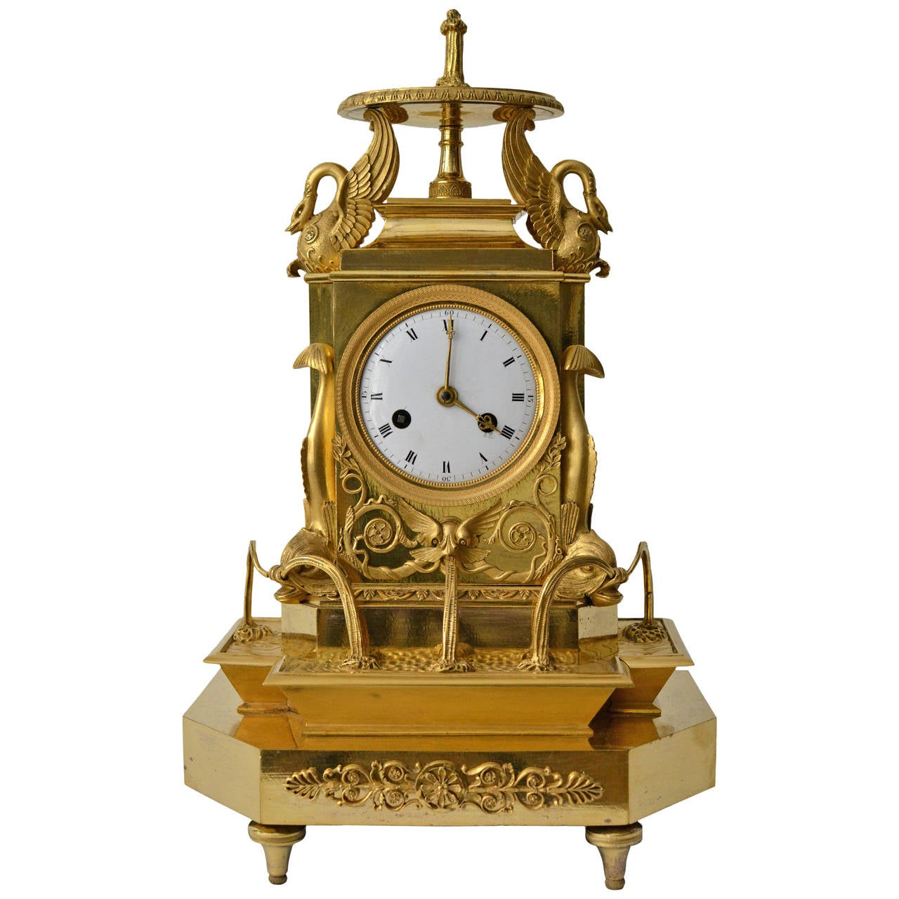 how to clean ormolu clock