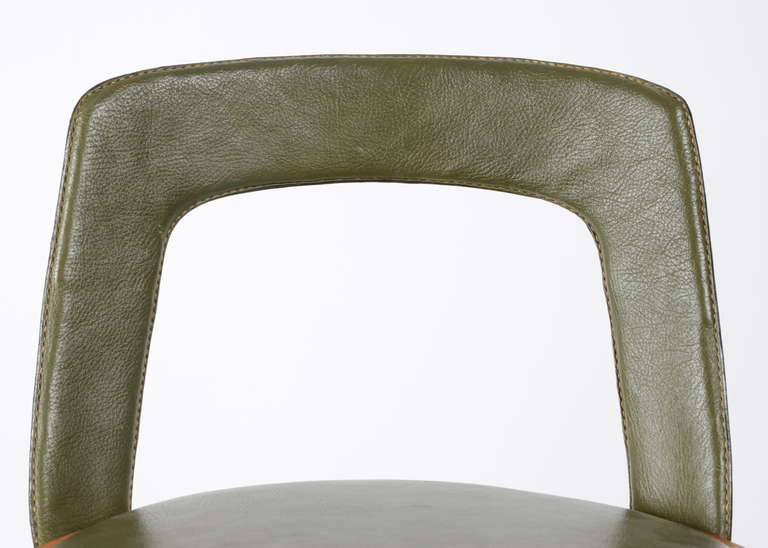 Stool by Tove & Edvard Kindt-Larsen manufactured by Thorald Madsens, Denmark 2