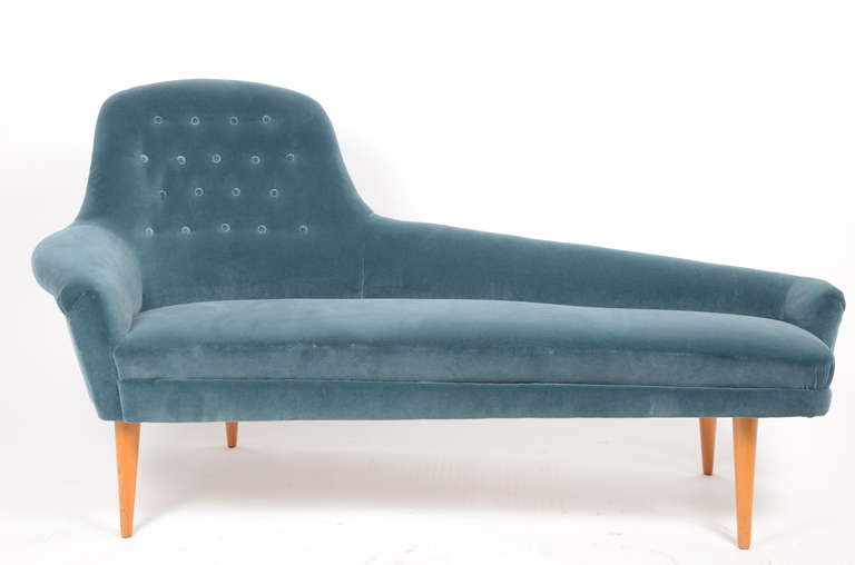 Kerstin horlin holmqvist daybed chaise longue 1950 39 s for for Chaise longue daybed
