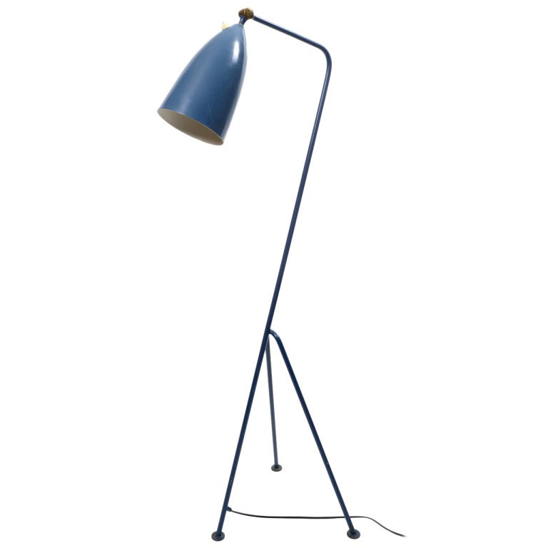 grasshopper floor lamp by greta magnusson grossman for bergboms sweden 1950 39 s at 1stdibs. Black Bedroom Furniture Sets. Home Design Ideas