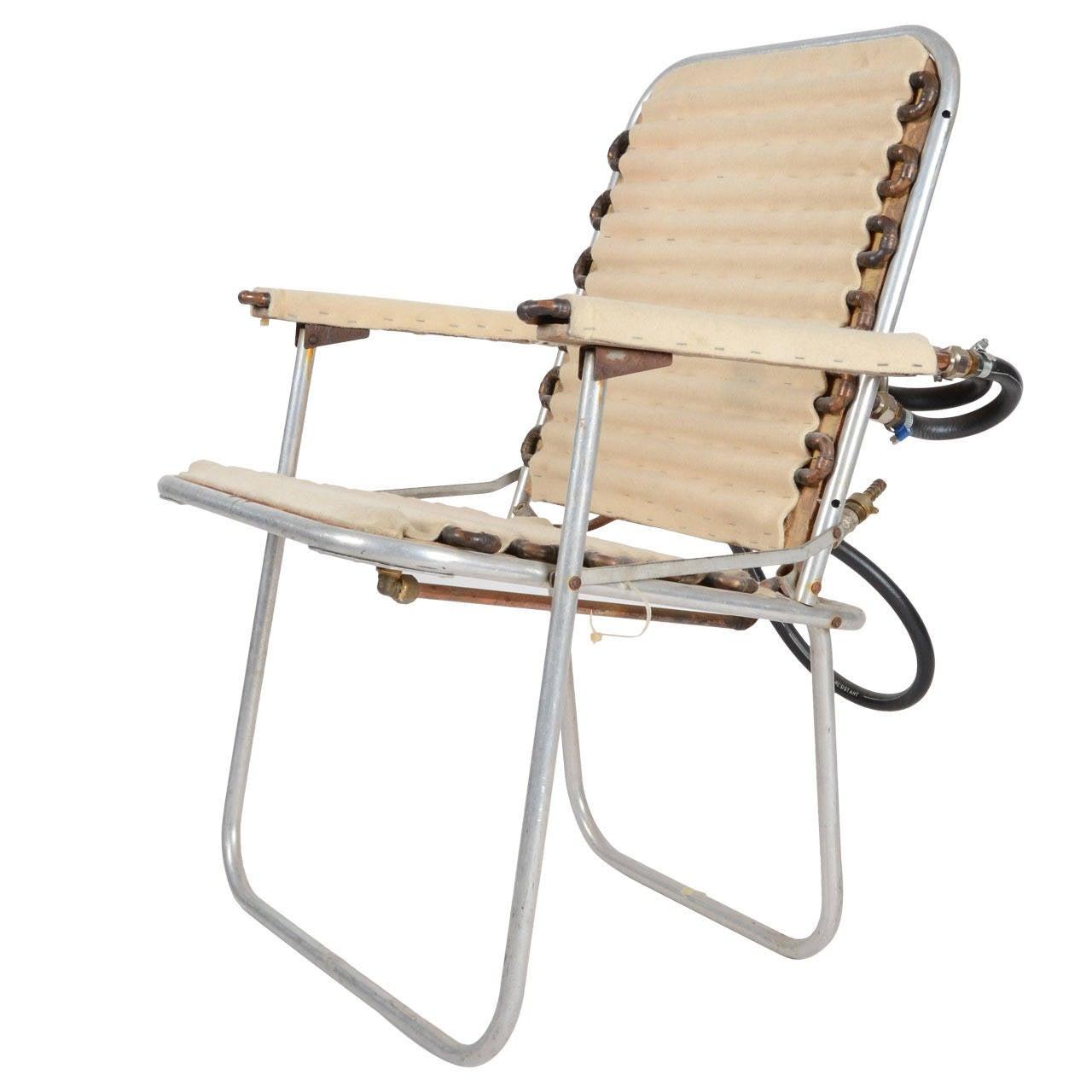 "Ulf Rollof, Sculpture ""Heated Chair"", 1993"