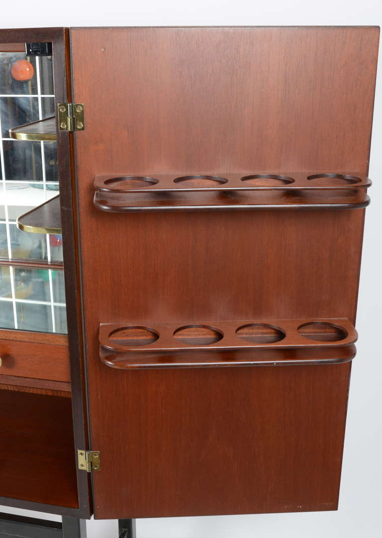 1960s kitchen cabinets bar cabinet with intarsia by firm quot stil and form 10070