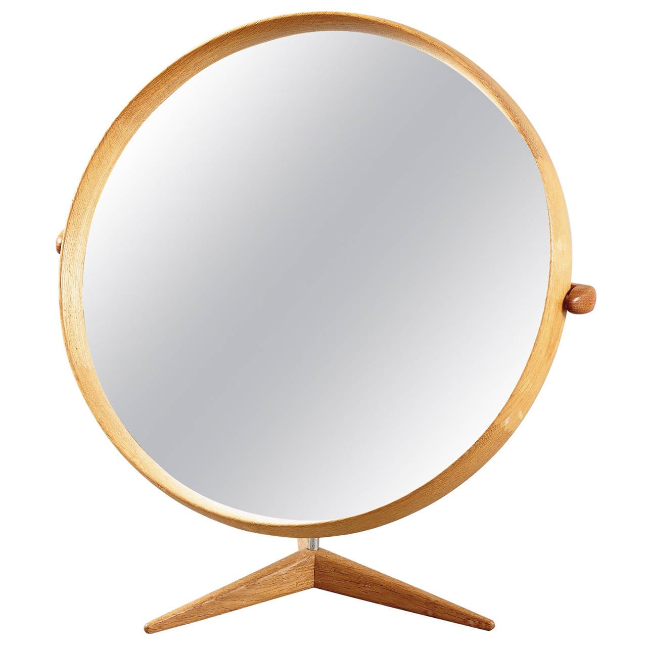 Table Mirror by Uno & Östen Kristiansson for Luxus of Sweden, 1960s