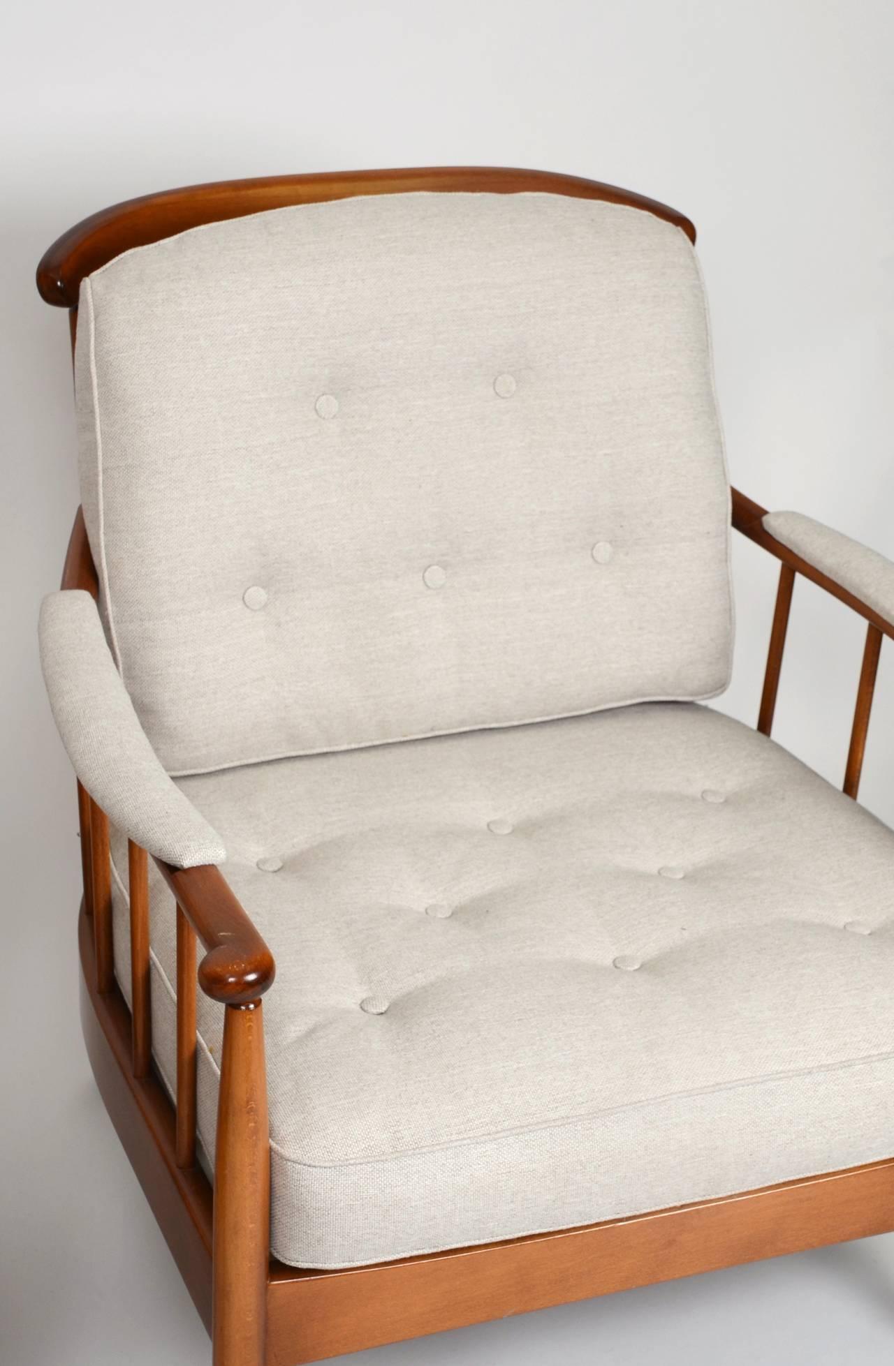 Pair of Skrindan Lounge Chairs by Kerstin Hörlin Holmquist for OPE