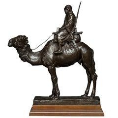 """""""Carl Johan Bonnesen"""" - """"A Bedouin on His Camel"""" Signed """"C. J. Bonnesen 1892"""""""