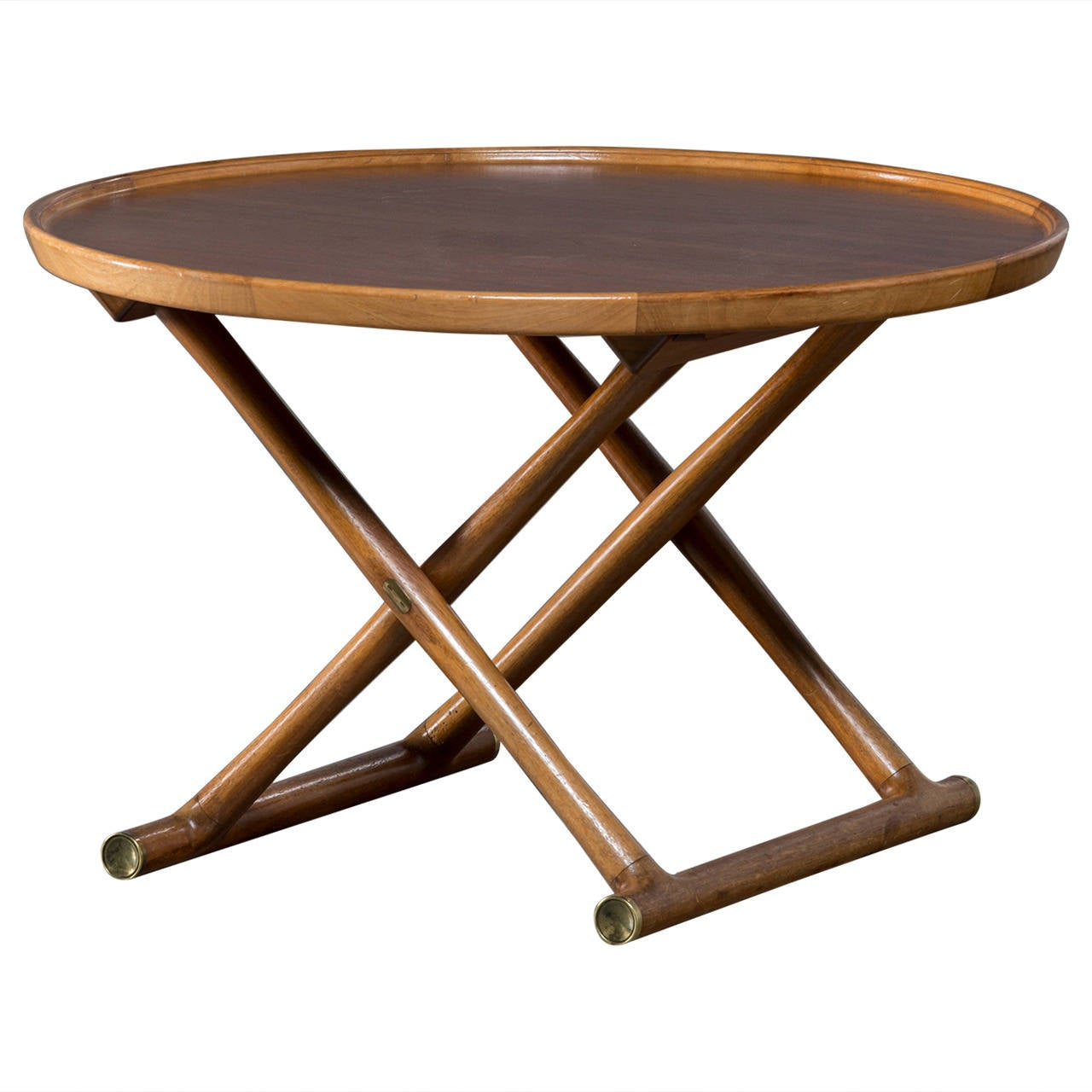 Mogens Lassen Egyptian Folding Table At 1stdibs