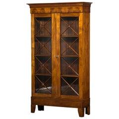 Elegant Late Empire Bookcase