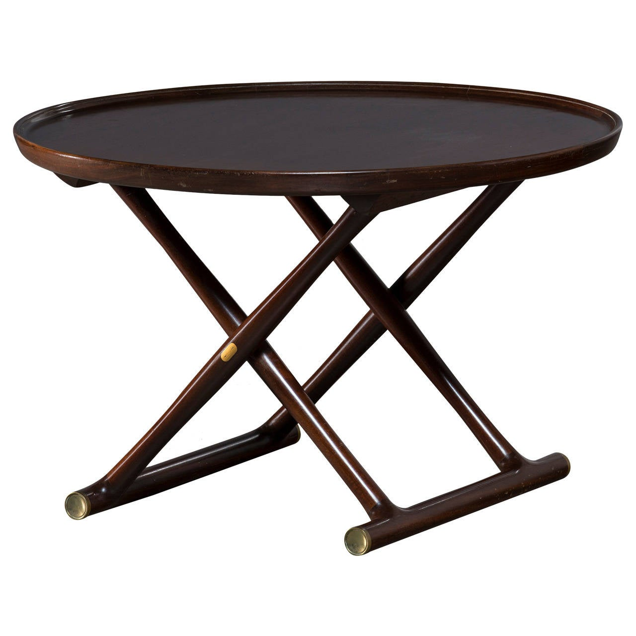 Mogens Lassen Egyptian Folding Table Mid 20th Century At 1stdibs