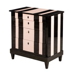 'Chanel' Inspired Chest of Drawers, Late Empire, circa 1840