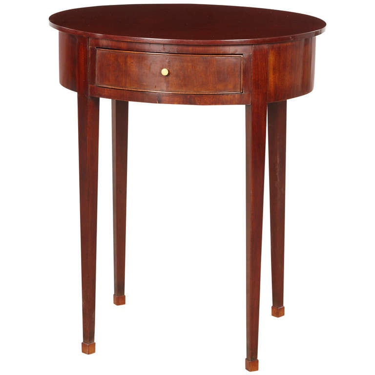 louis xvi lamp table for sale at 1stdibs. Black Bedroom Furniture Sets. Home Design Ideas