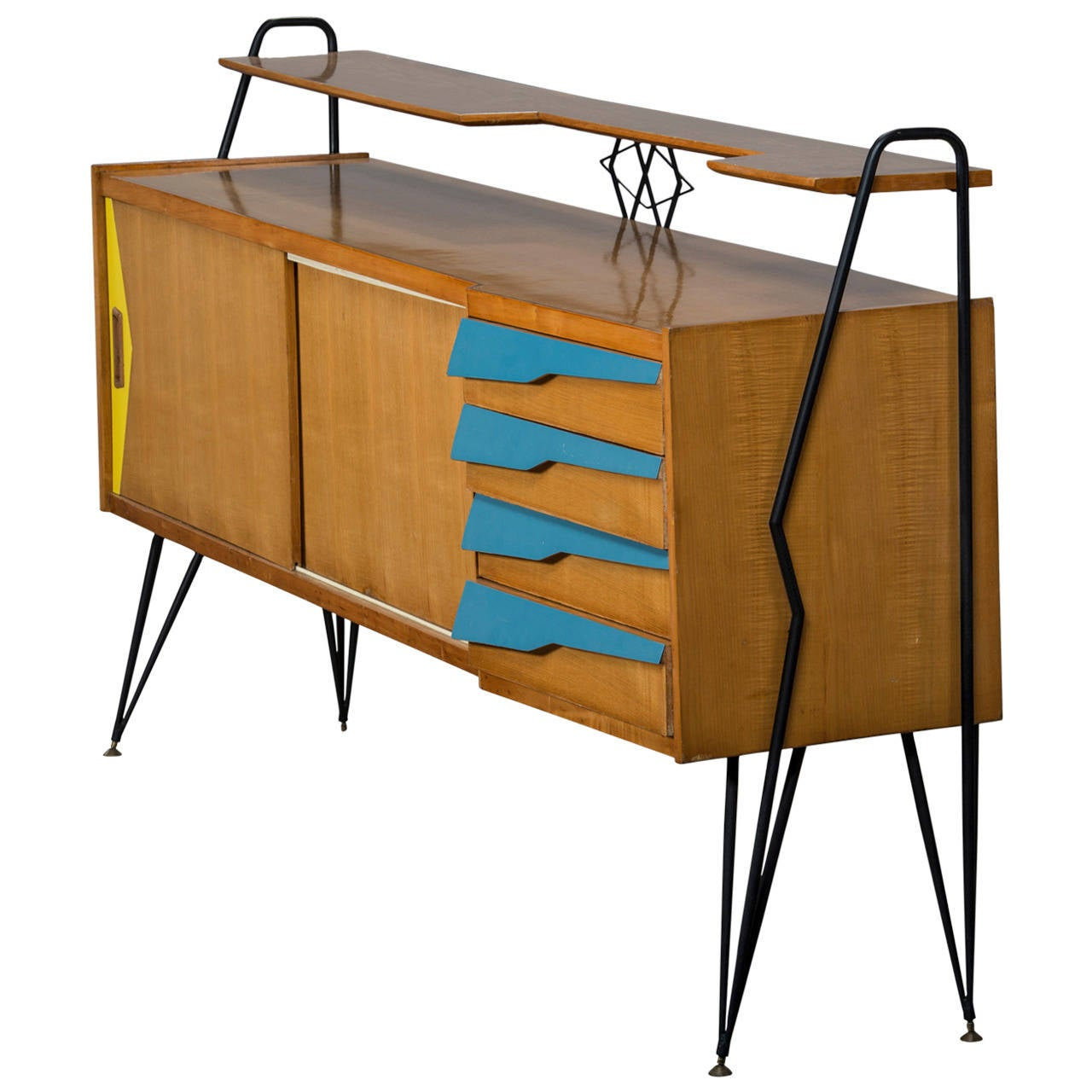 Italian sideboard mid 20th century for sale at 1stdibs for Mid 20th century furniture
