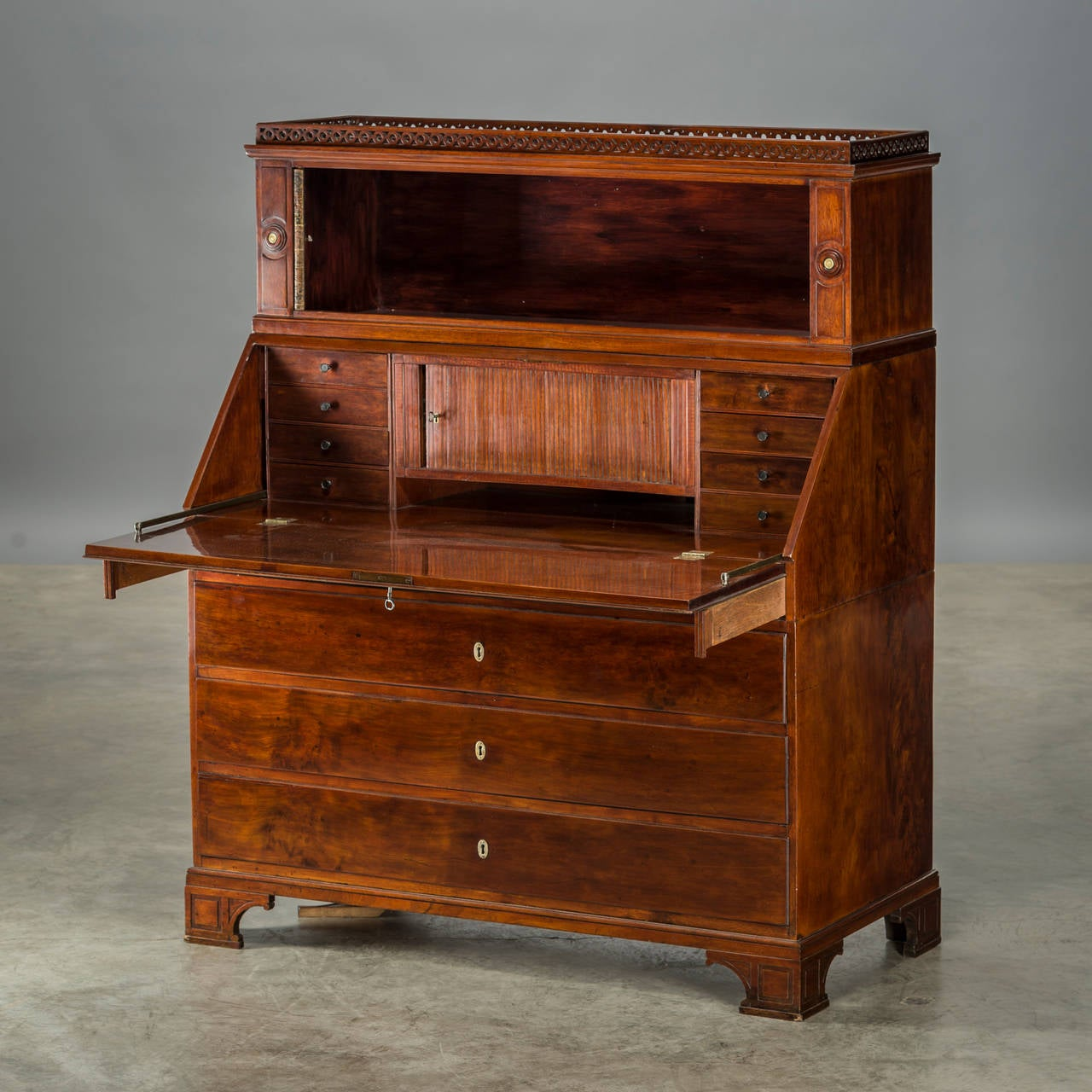 louis xvi bureau copenhagen circa 1780 at 1stdibs. Black Bedroom Furniture Sets. Home Design Ideas