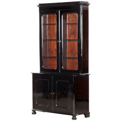 Ebonised Mahogany Bookcase