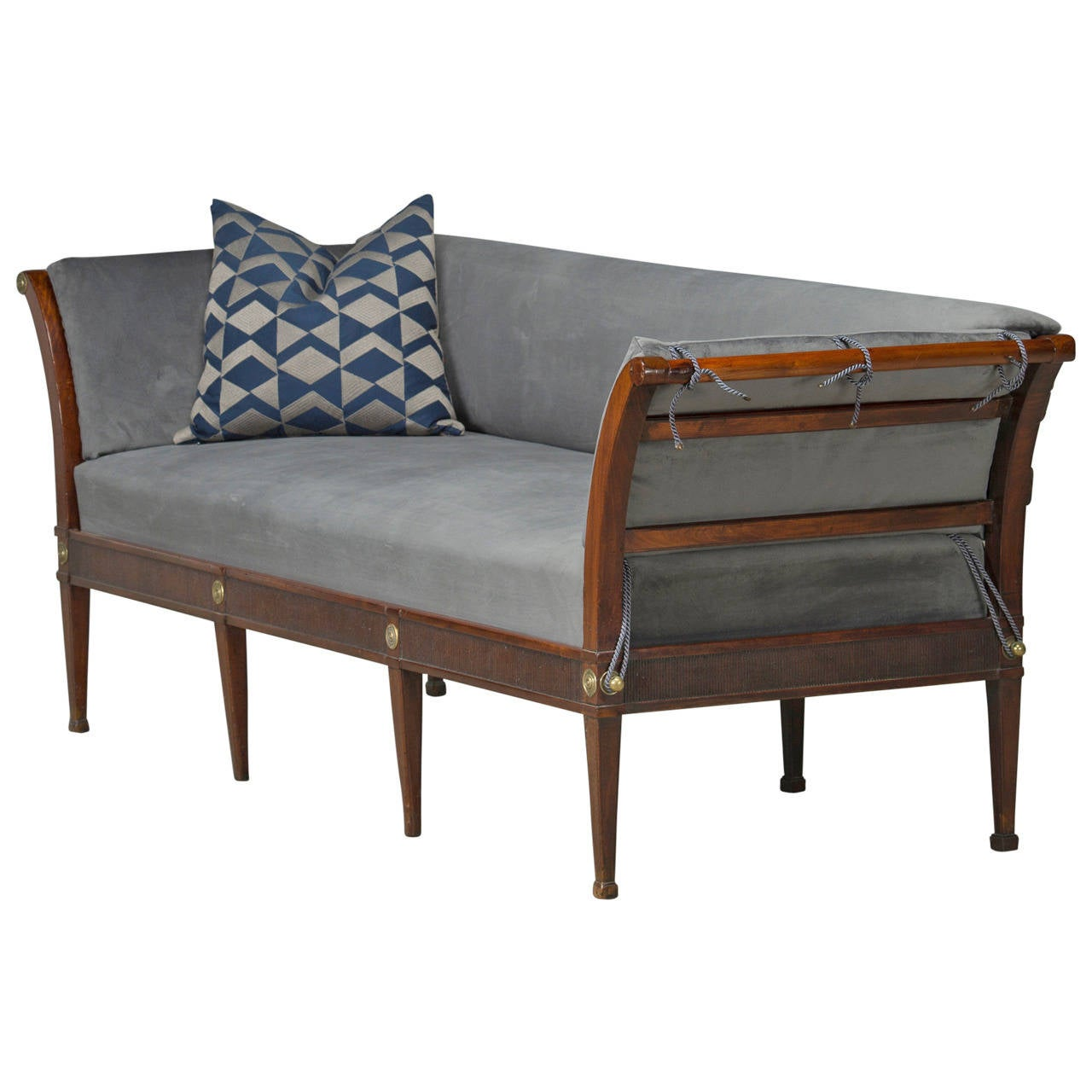 Elegant Louis Xvi Sofa Bench For