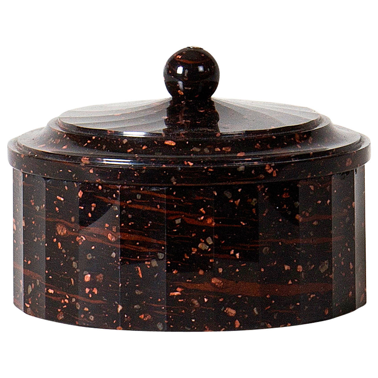 18th Century Porphyry Box At 1stdibs