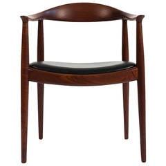 """Hans J. Wegner """"The Chair"""" in Teak"""