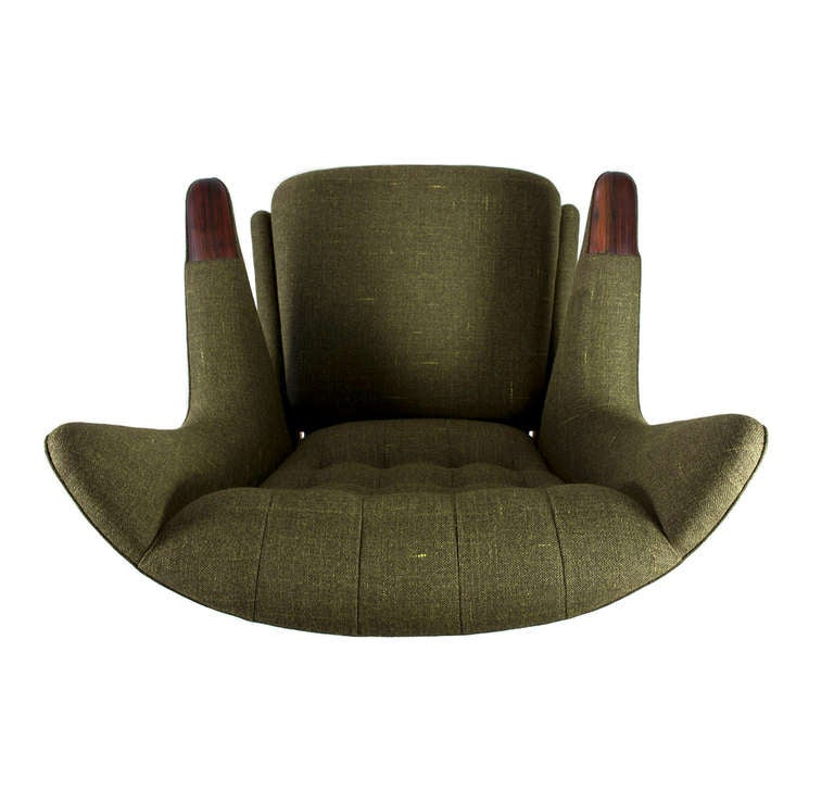 This four wishbone chairs by hans wegner is no longer available - Hans J Wegner Papa Bear At 1stdibs