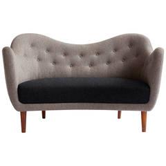 Finn Juhl Bo46 Sofa Made by Bovirke