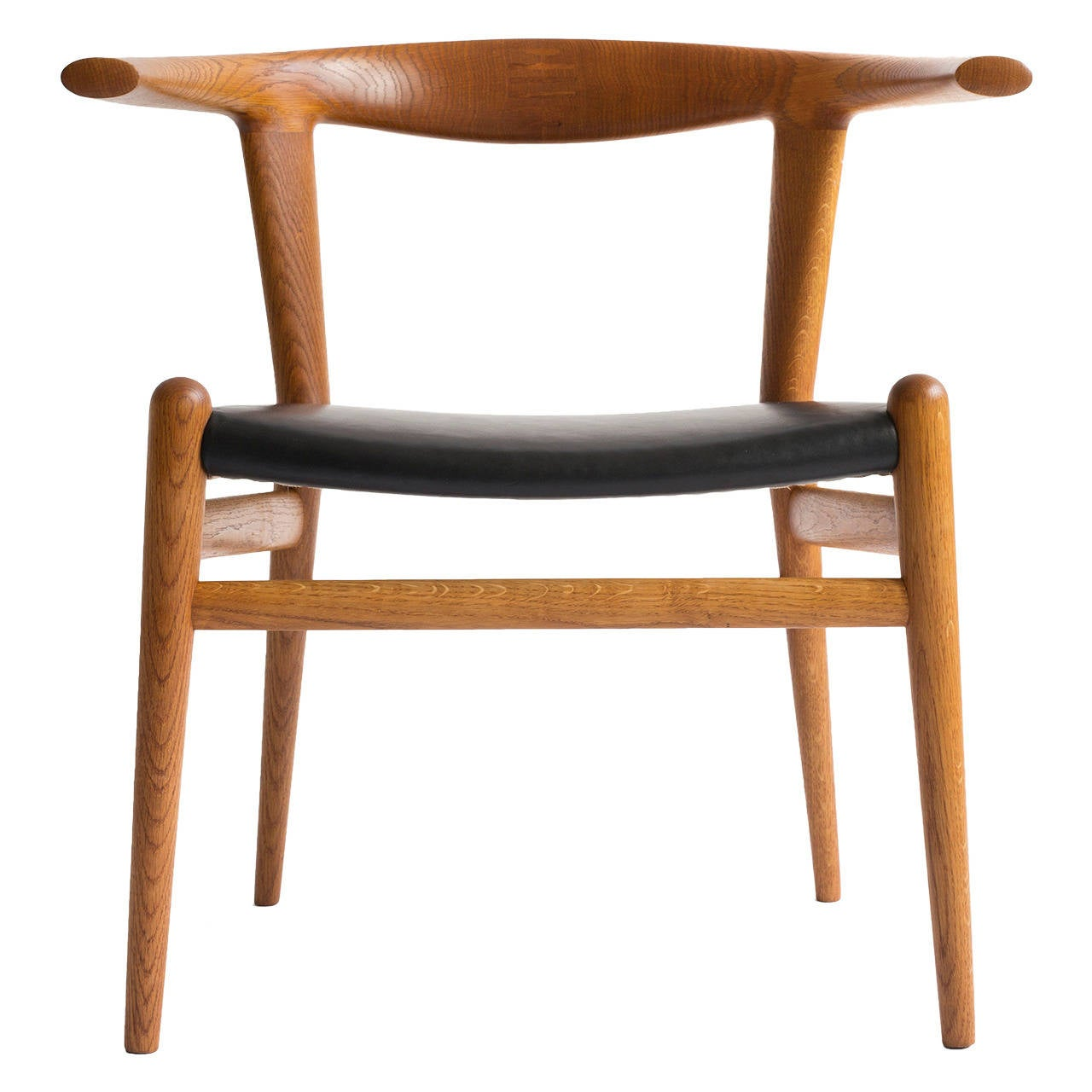 hans j wegner 39 bull chair 39 for sale at 1stdibs. Black Bedroom Furniture Sets. Home Design Ideas