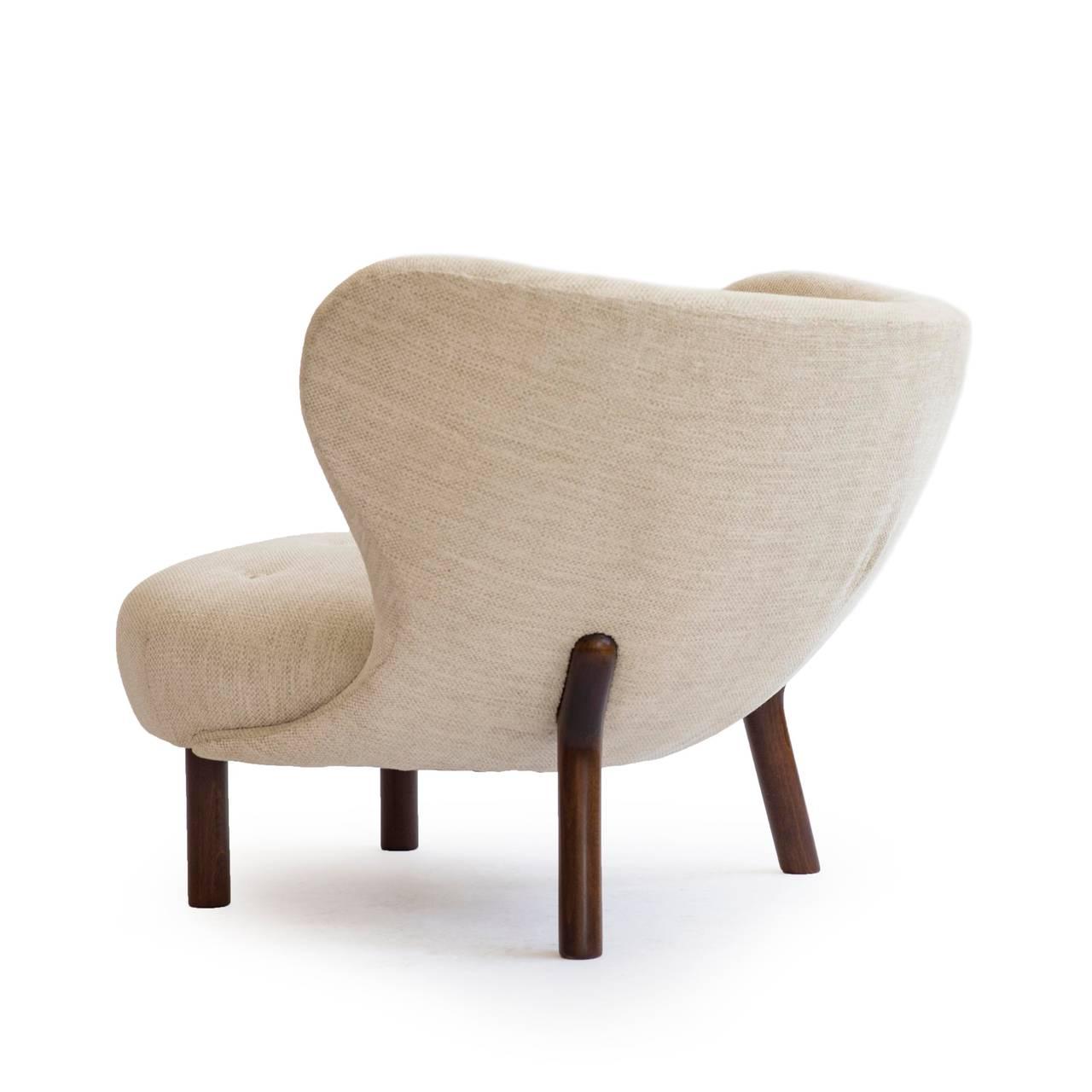 Viggo Boesen Lounge Chair, U0027The Little Petrau0027 By A. J. Iversen 3