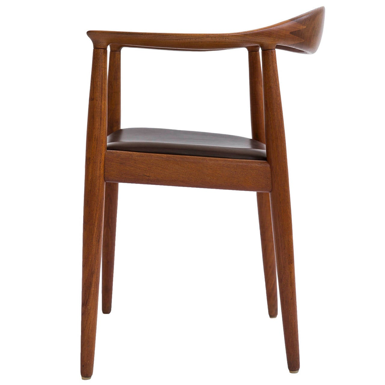 Hans J. Wegner 'The Chair,' Johannes Hansen For Sale