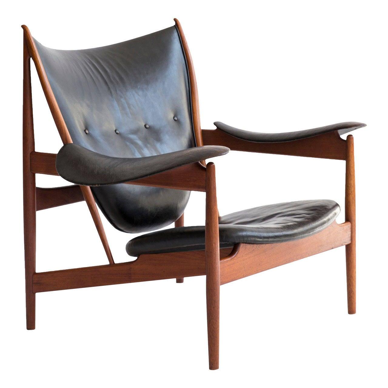 Early Finn Juhl Chieftain Chair, Niels Vodder For Sale