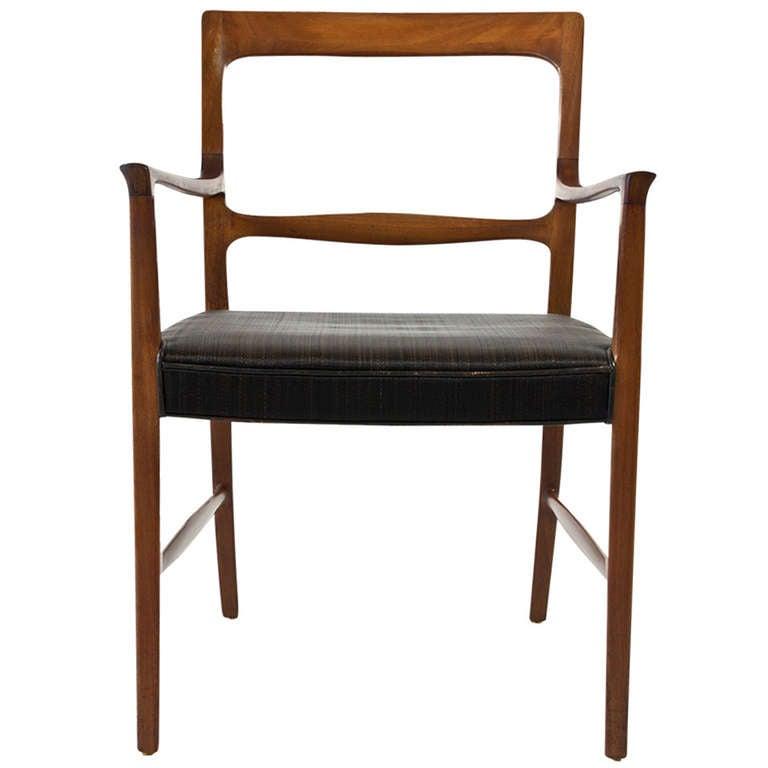 Ole Wanscher Armchair for A.J. Iversen