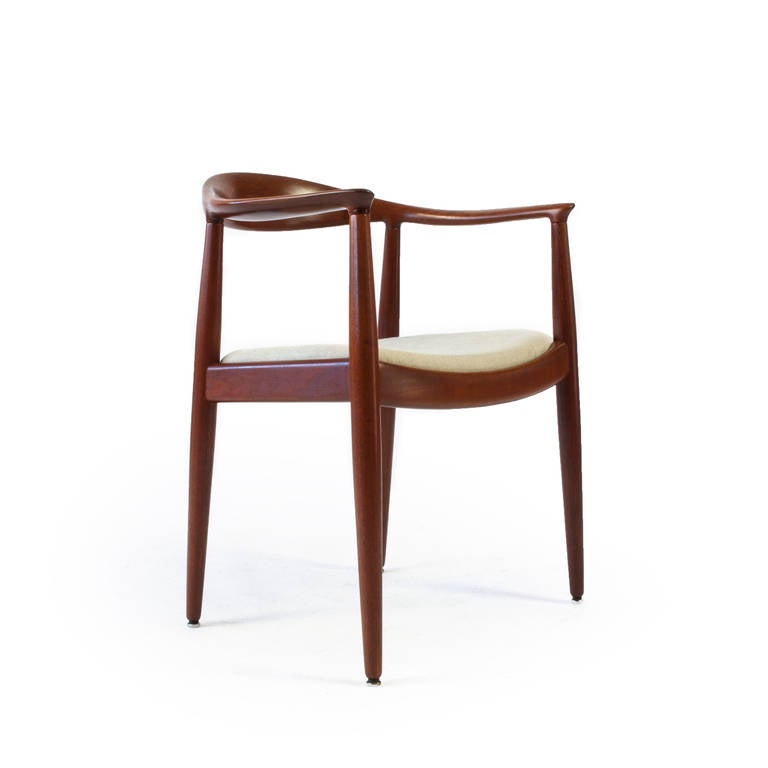 Hans J Wegner The Chair Johannes Hansen At 1stdibs