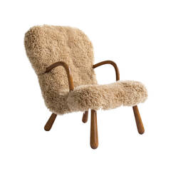 Anonymous Lambskin Lounge Chair