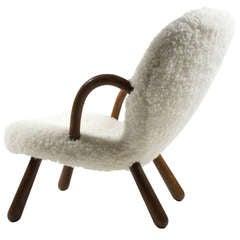 Philip Arktander Clam Chair