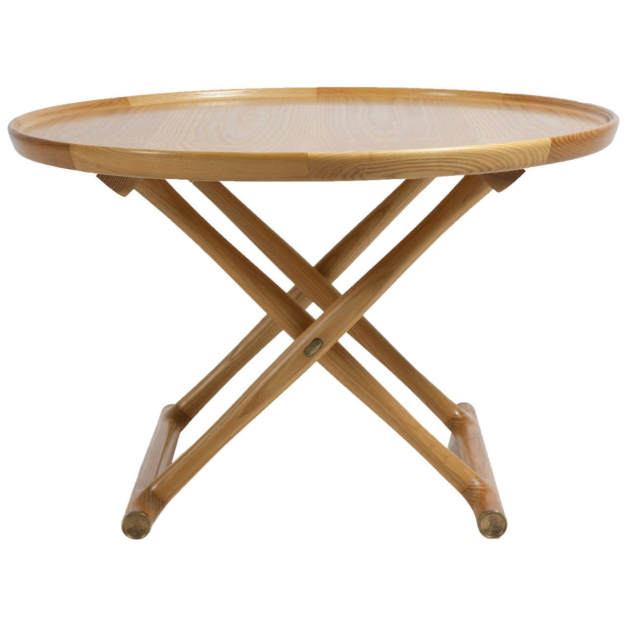 Mogens Lassen Ash Egyptian Table A J Iversen At 1stdibs