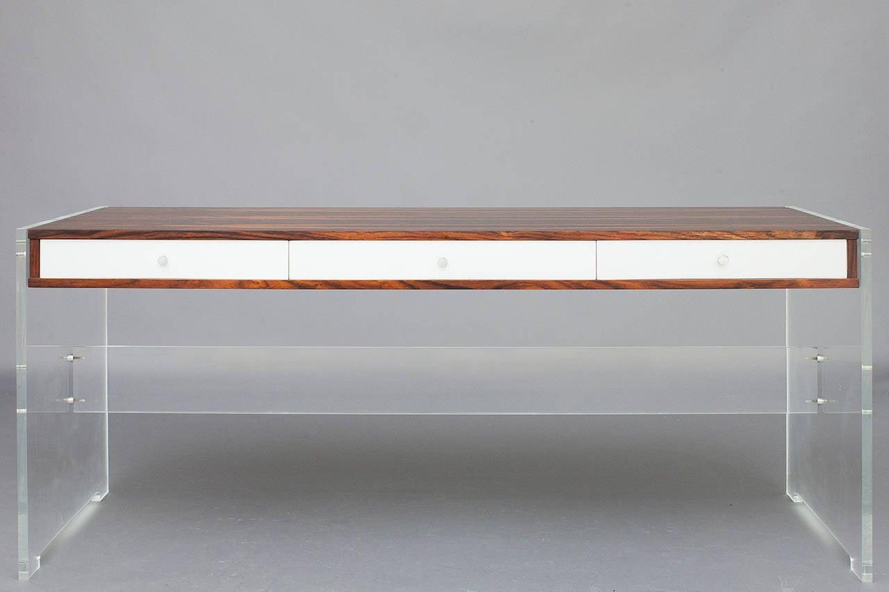 Delightful Desk By Poul Nørreklit For Georg Petersen Furniture 2