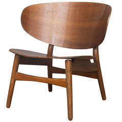 Shell Chair by Hans J. Wegner for Fritz Hansen