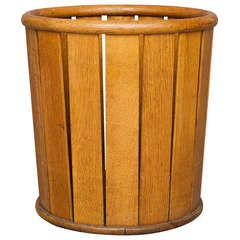 Waste paper basket by Hans J. Wegner for Plan Furniture