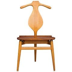 """Valet Chair"" by Hans J. Wegner for Johannes Hansen"