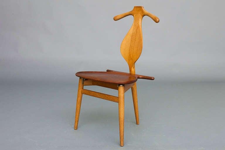 Valet Chair By Hans J Wegner For Johannes Hansen At 1stdibs