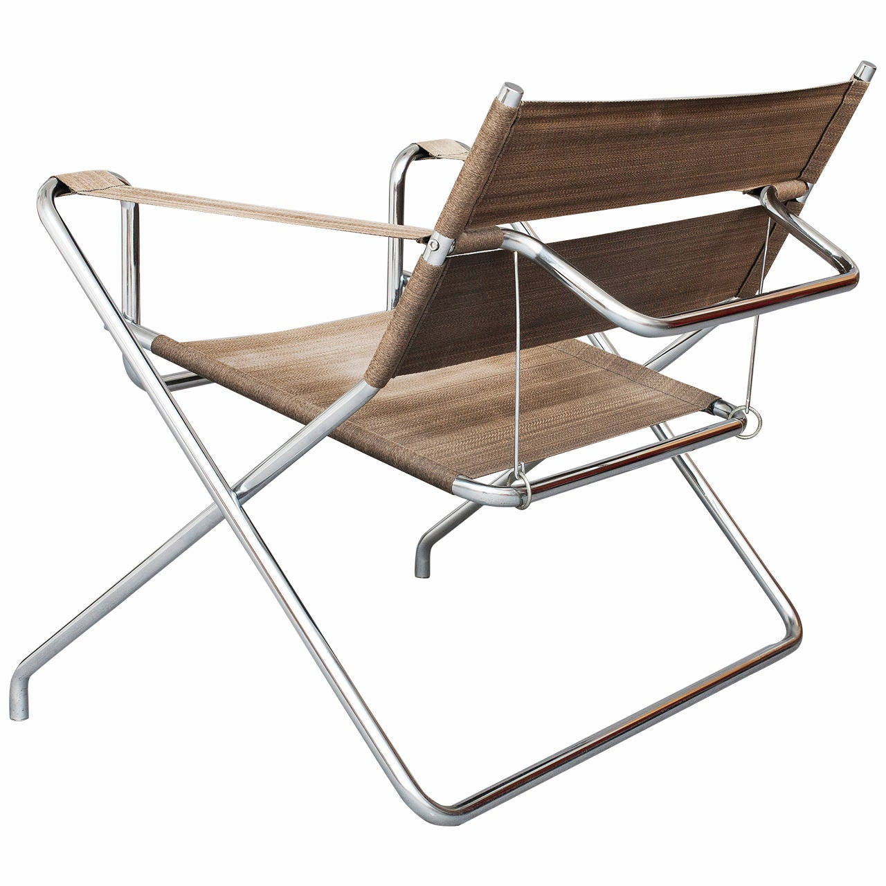 Folding Chair Model D4 By Marcel Breuer For Thonet At 1stdibs