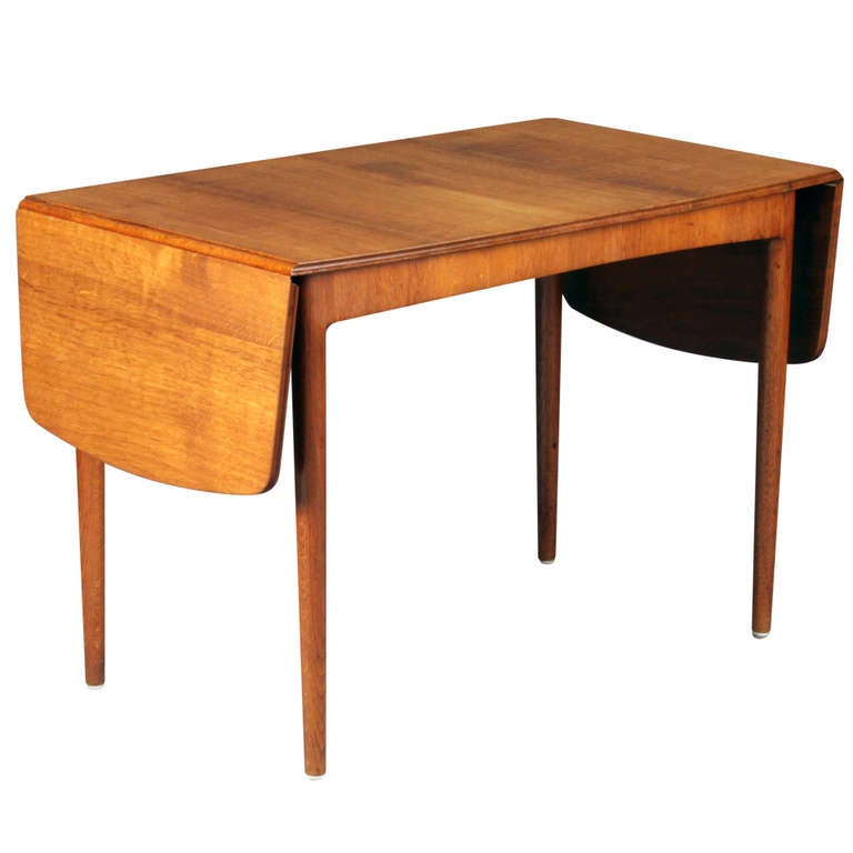 Drop Leaf Coffee Table By Frits Henningen For Sale At 1stdibs