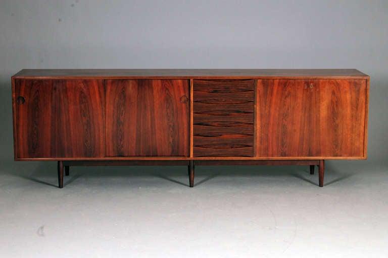 sideboard by arne vodder at 1stdibs. Black Bedroom Furniture Sets. Home Design Ideas