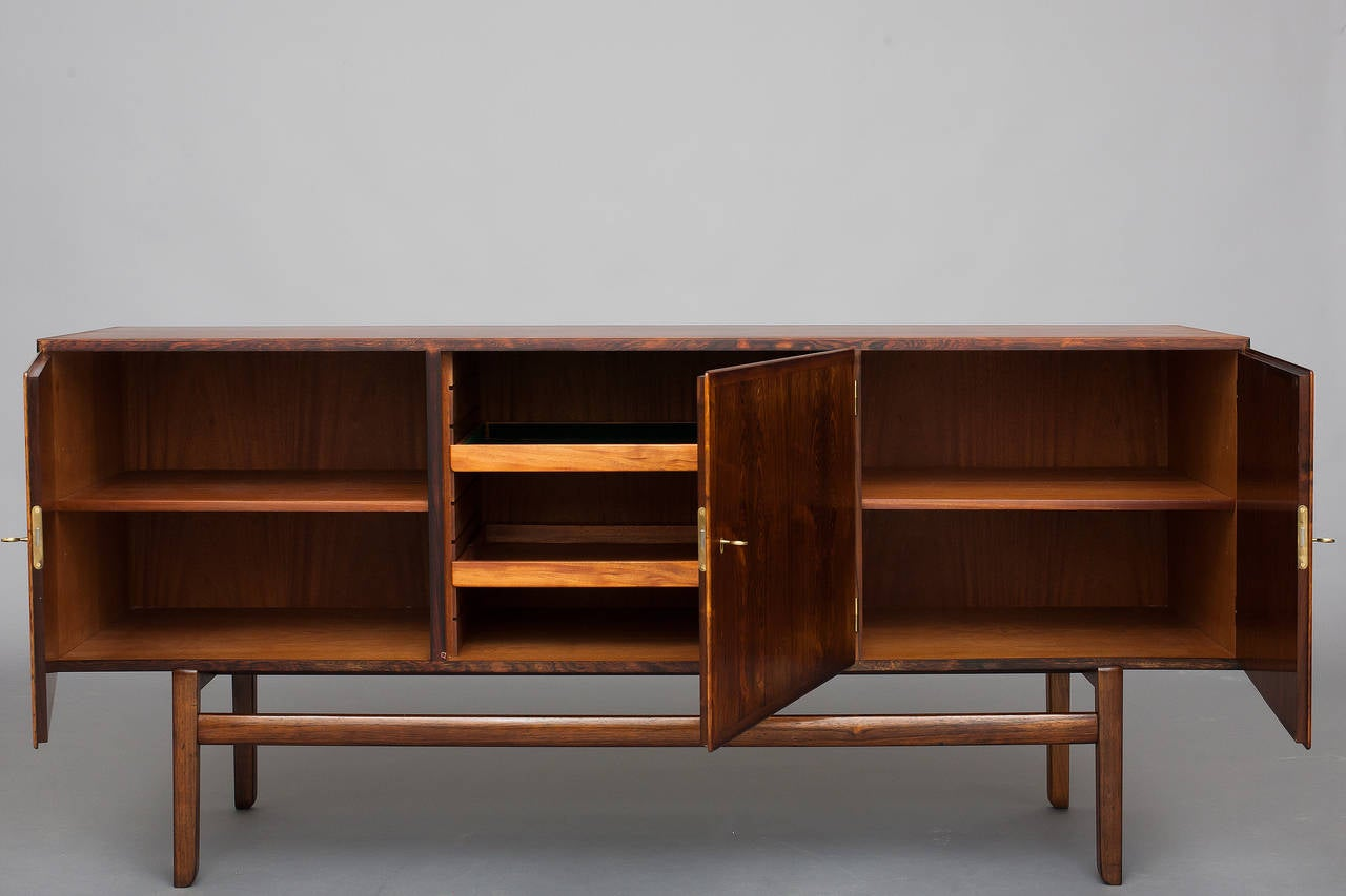 sideboard by ole wanscher for p jeppesen at 1stdibs