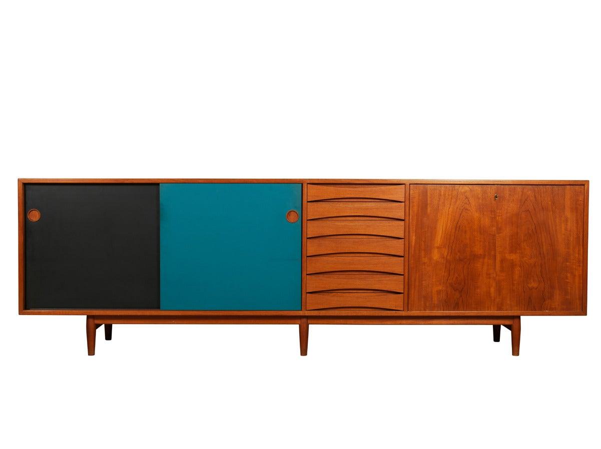 Arne vodder sideboard for sibast furniture at 1stdibs for Sideboard 250 cm