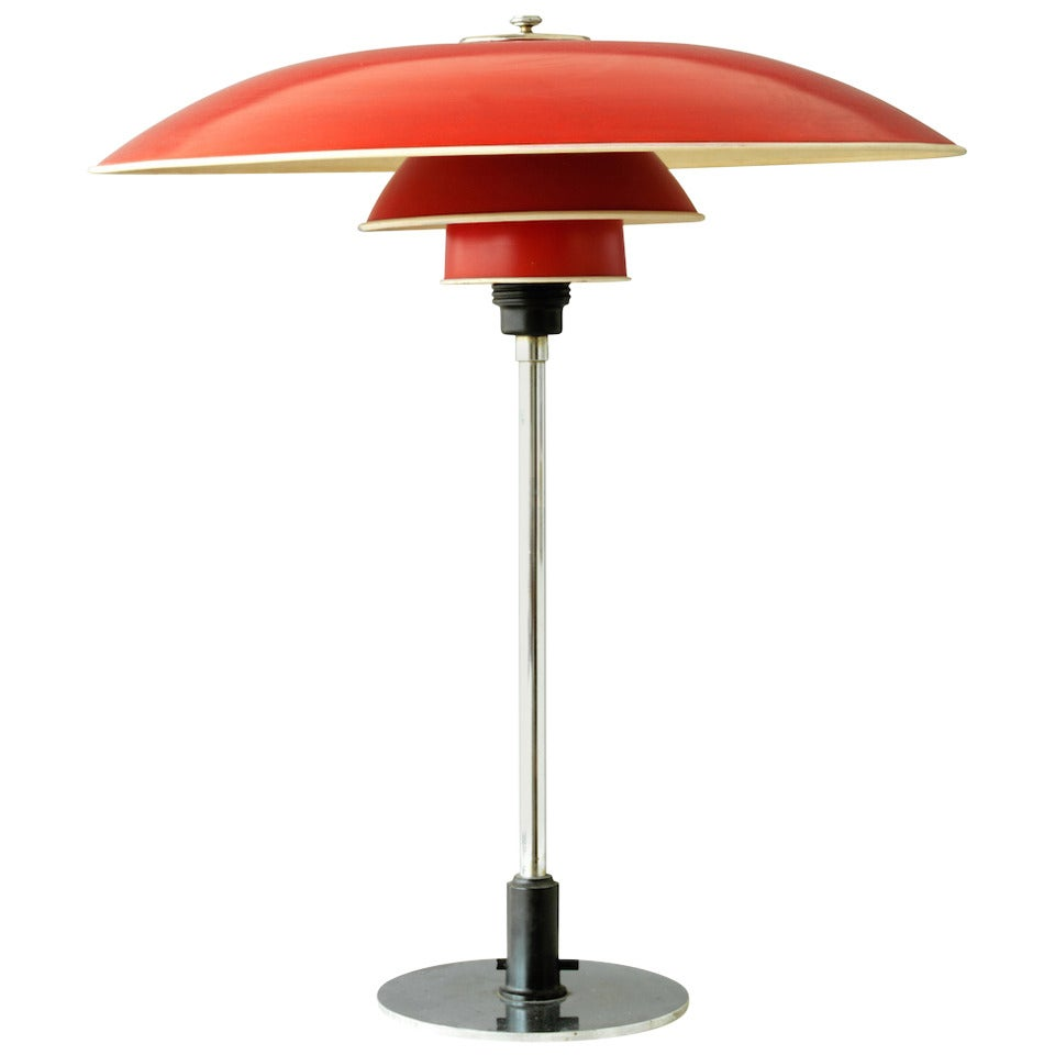 poul henningsen ph 5 3 table lamp at 1stdibs. Black Bedroom Furniture Sets. Home Design Ideas