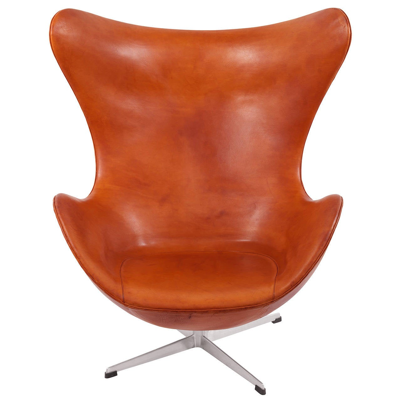 stunning and early egg chair by arne jacobsen 1958 for. Black Bedroom Furniture Sets. Home Design Ideas