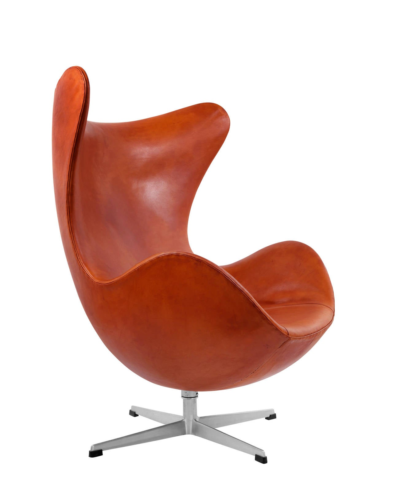 stunning and early egg chair by arne jacobsen 1958 for sale at 1stdibs. Black Bedroom Furniture Sets. Home Design Ideas