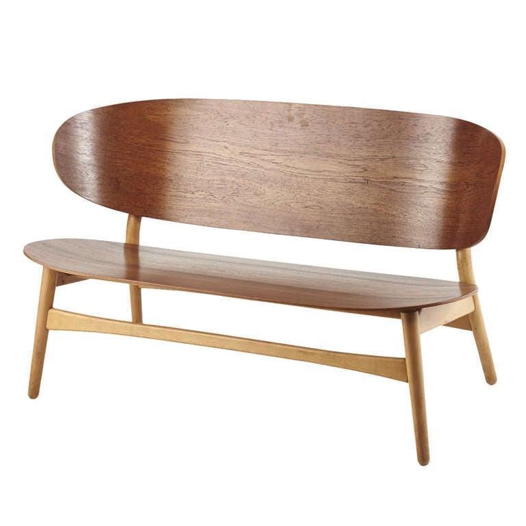 Hans Wegner Shell Sofa Model No 1935 At 1stdibs