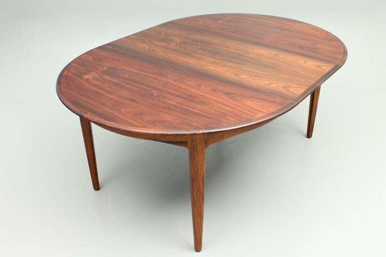 danish design dining table by henning kj rnulf sor at 1stdibs